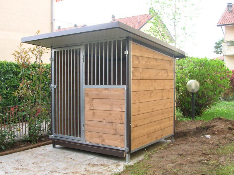 Box per cani singolo modello standard