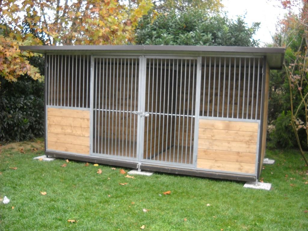 Box per cani n 3 box per cani for Box per cani da esterno usati