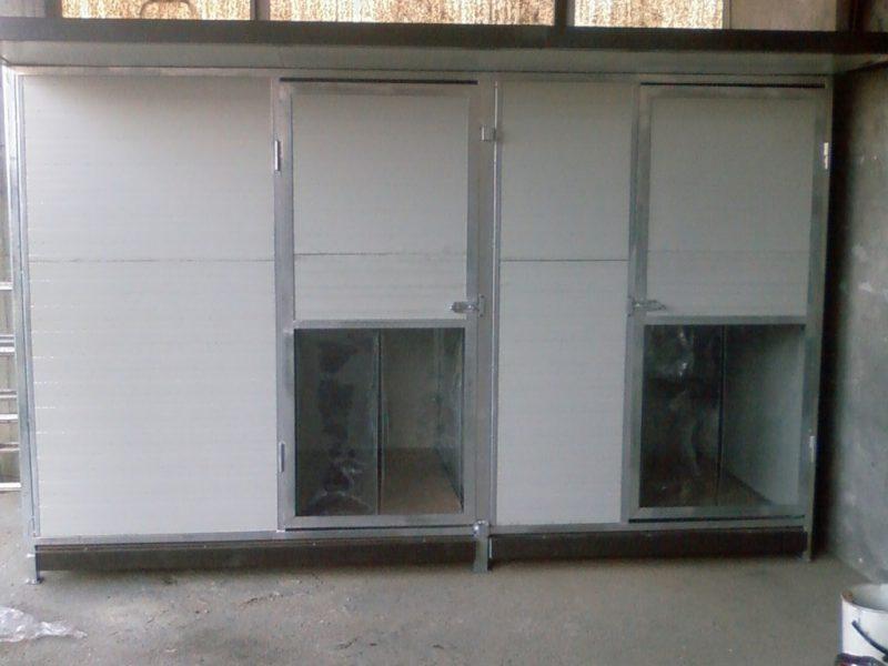 Box per cani doppio modello standard